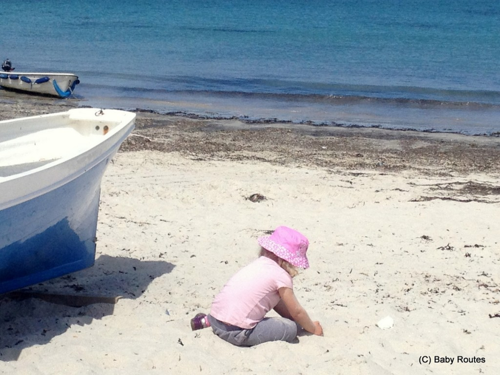 Playing on the beach, St. Mary's, Isles of Scilly