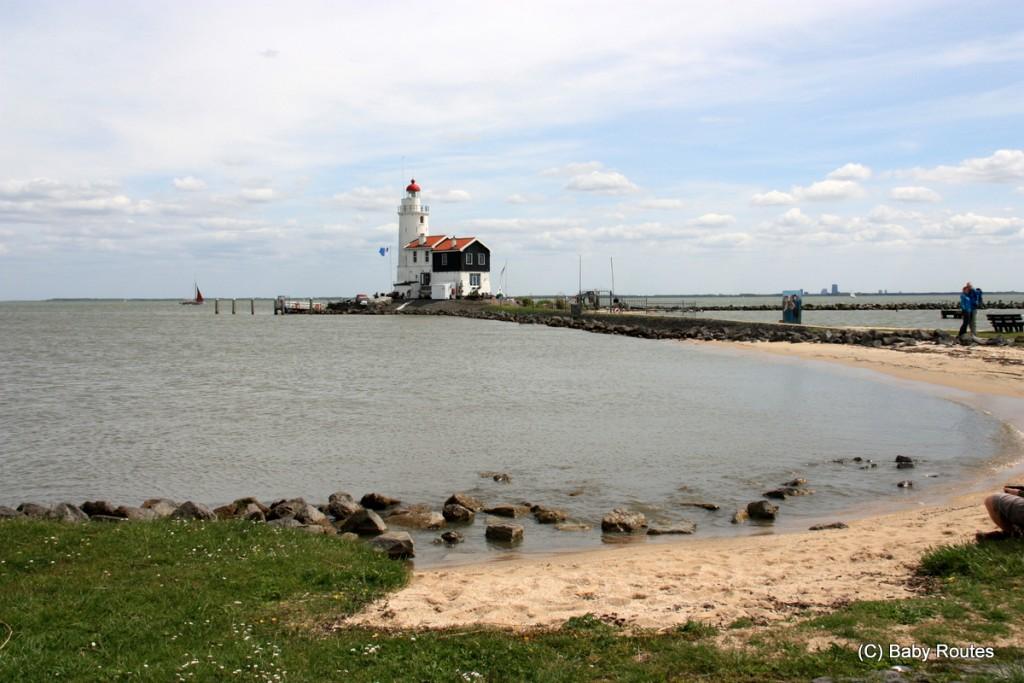 Lighthouse, Marken, Amsterdam, Waterlands Cycling Tour