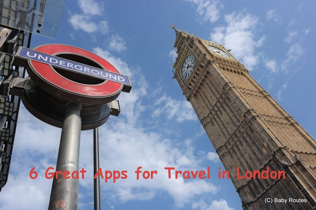 6 Great App for Travel in London
