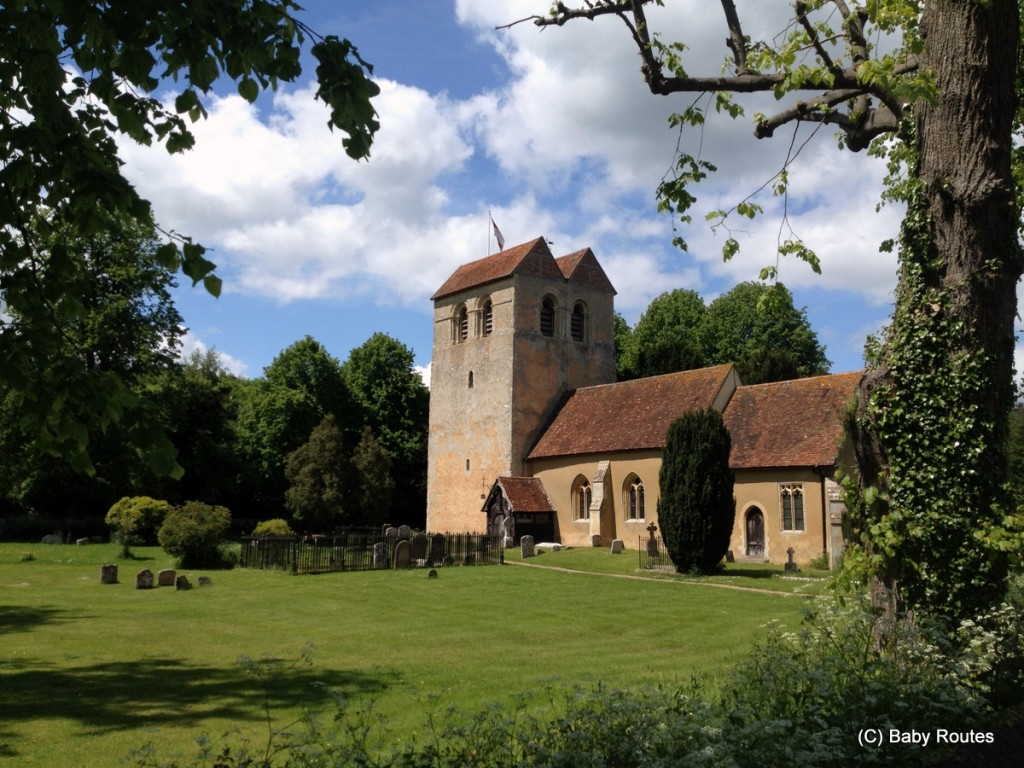 St. Bartholomew, Fingest, Turville  - Fingest Screen Walk, Baby Routes