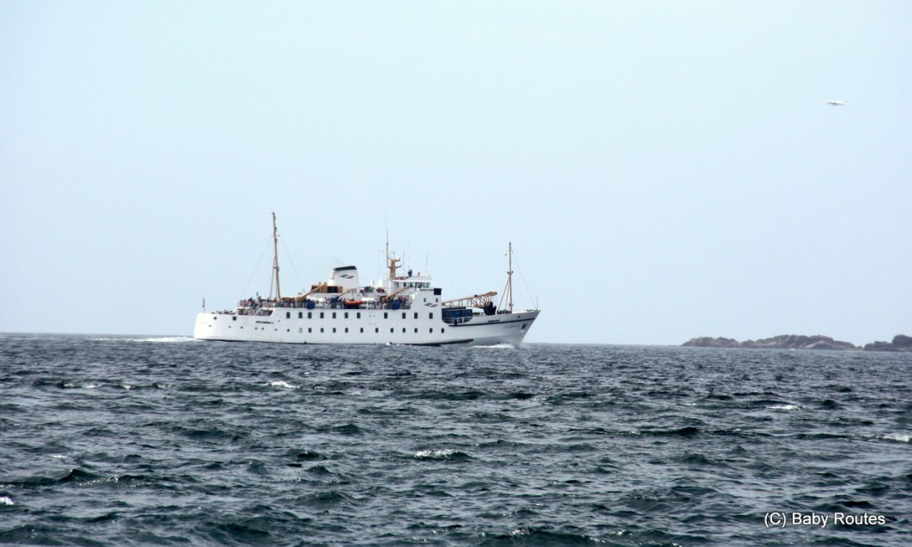 Scillonian III Ferry, Isles of Scilly