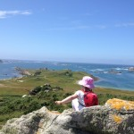 Scilly Isles Walking - view from Samson Hill, Bryher, Isles of Scilly