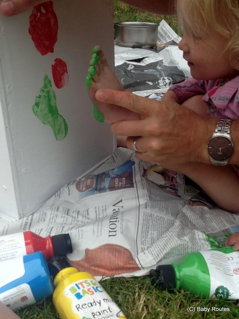 How to make a garden shoe box