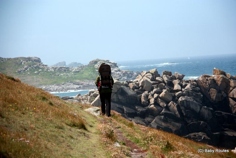 Bryher Round Island Walk, Walks with Children, Isles of Scilly, Baby Routes