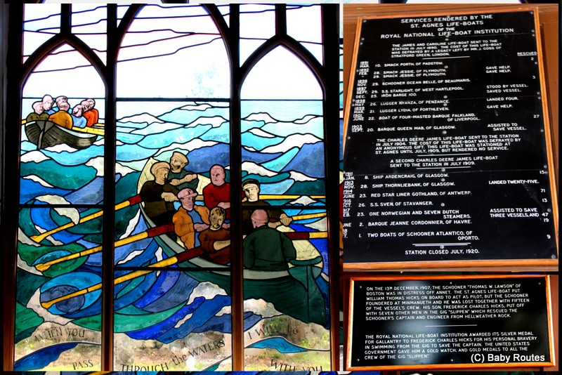 Gig Boats Stained Glass Window, St. Agnes, Painting with Oriel Hicks at The Phoenix Craft Studios, Baby Routes