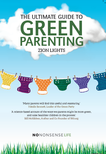 The Ultimate Guide to Green Parenting book cover