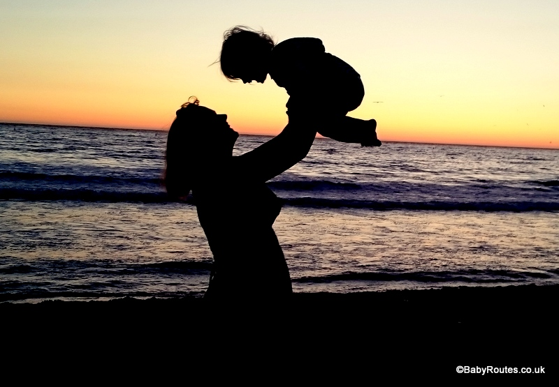 Sunset on Santa Monica Beach, 8 Fun Things to do with young children in Santa Monica