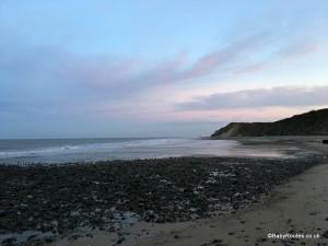 West Runton Beach, Norfolk Winter Weekend