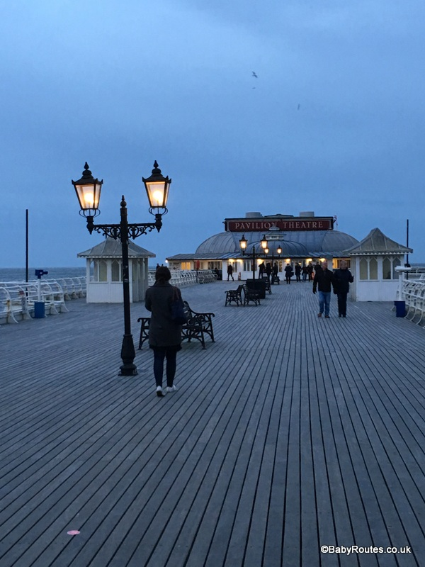Cromer's historic pier,.Norfolk Winter Weekend