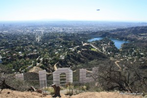 Hollywood Sign & Mt. Lee Walk, California