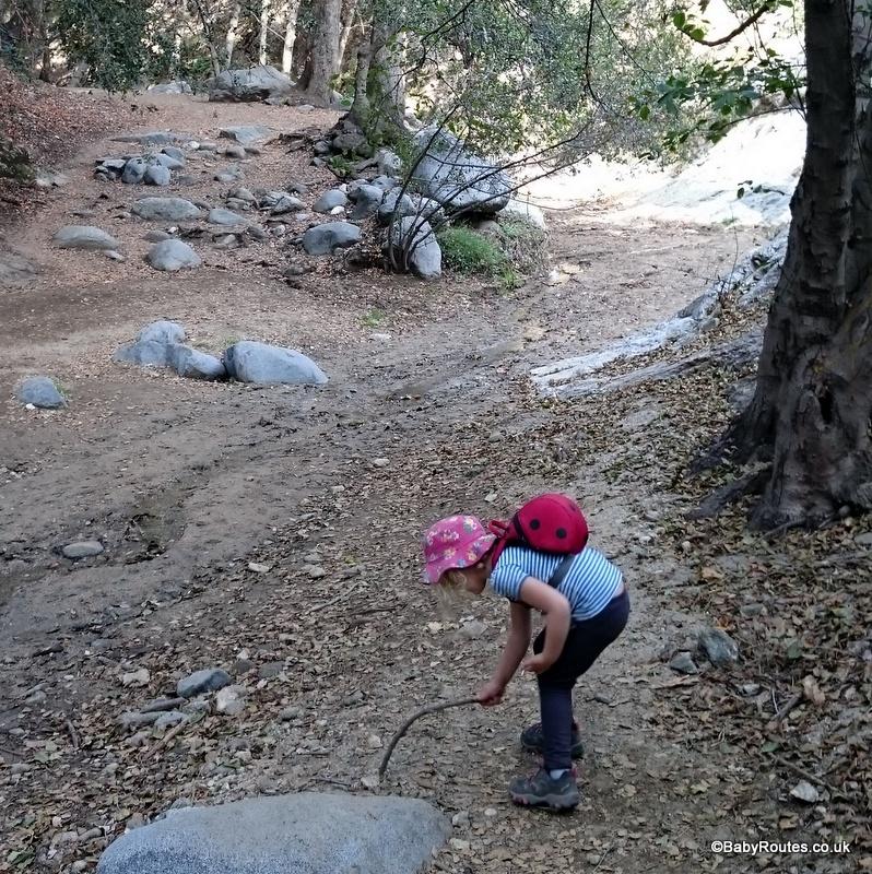 California hike