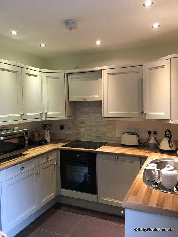 Kitchen, Brackenhurst, Norfolk Cottages, Accommodation Review in West Runton, Norfolk.