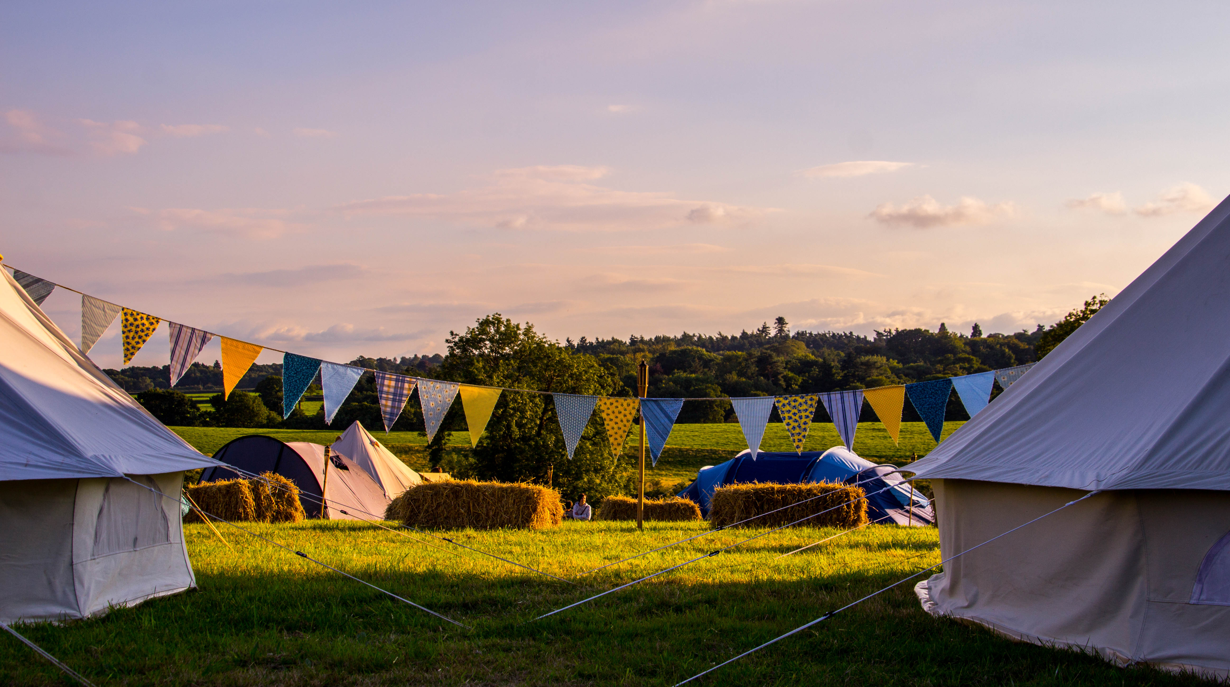 The Good Life Festival. Unusual sleepover and camping ideas family UK