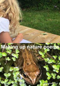 Making up Nature Poems, 30 Days Wild