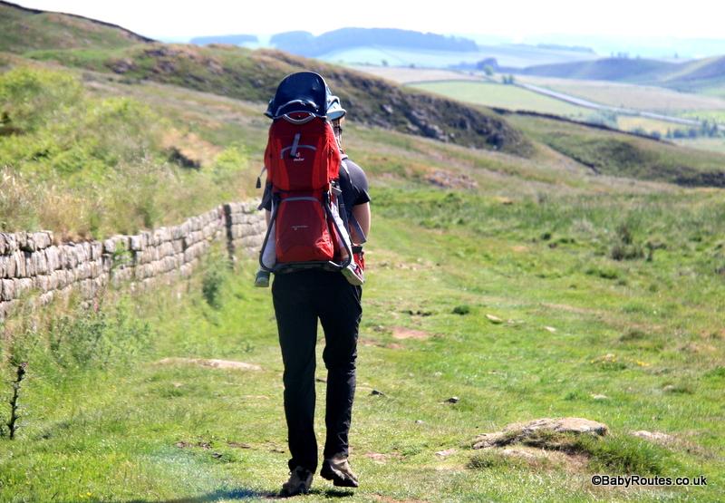 Deuter Kid Comfort II Child Carrier Review, Hadrian's Wall, Northumberland
