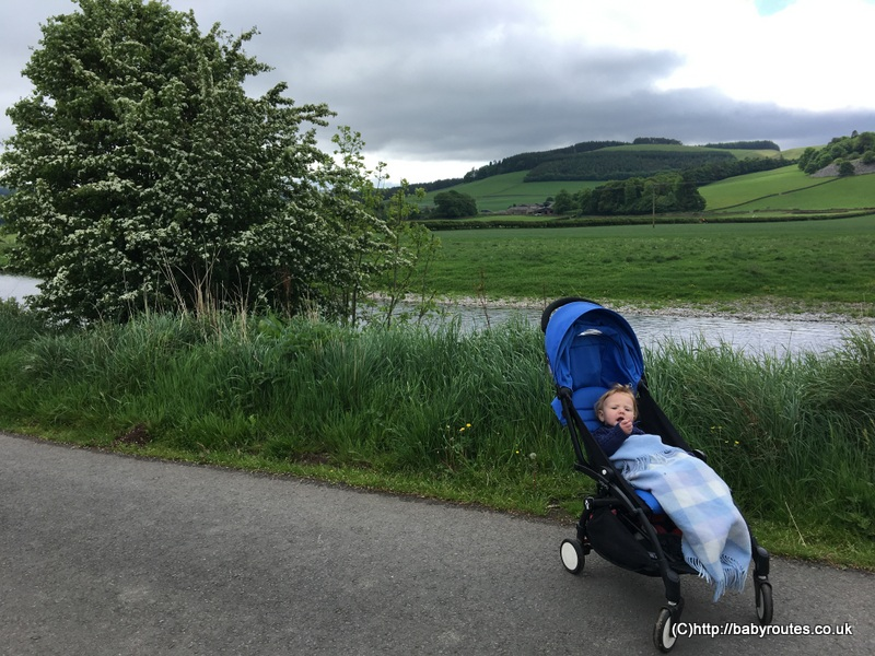 Innerleithen to Cardrona Tweed Valley Pushchair Walk