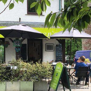 Breakfast at Green's Cafe & Bistro, Grasmere, Lake District, alternative motorway service station stops.