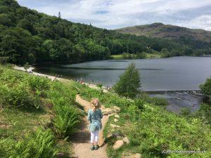 White Moss Short Scenic Loop, Grasmere, Lake District, Cumbria