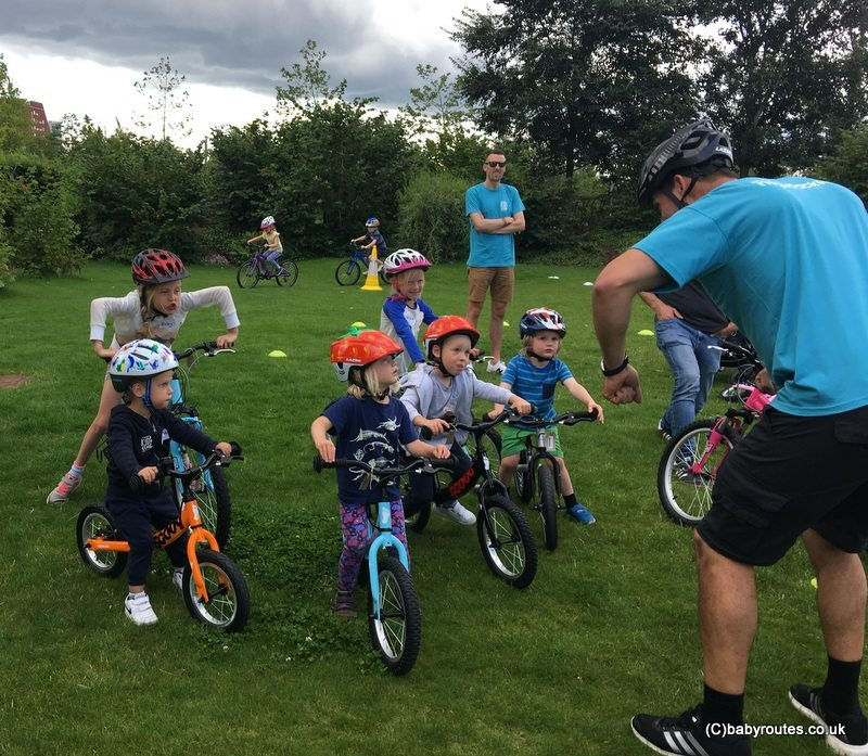 Learning to Cycle with Ridgeback Kids Club Event, Queen Elizabeth Olympic Park, London