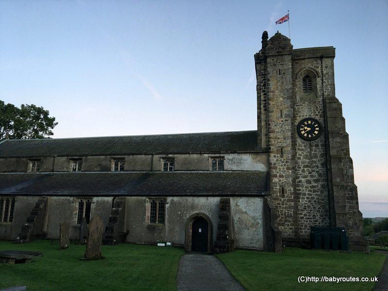 St. Andrew's Church, Slaidburn, Slaidburn Easy Village Walk, Forest of Bowland, Lancashire