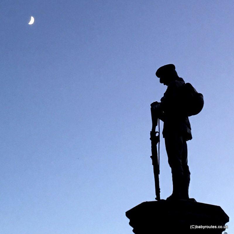 War memorial, Slaidburn, Slaidburn Easy Village Walk, Forest of Bowland, Lancashire