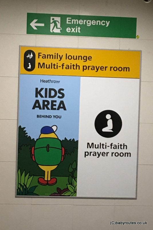 Heathrow Airport Terminal 3 Family Room