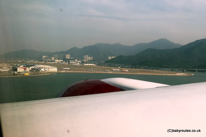 Virgin Atlantic to Hong Kong