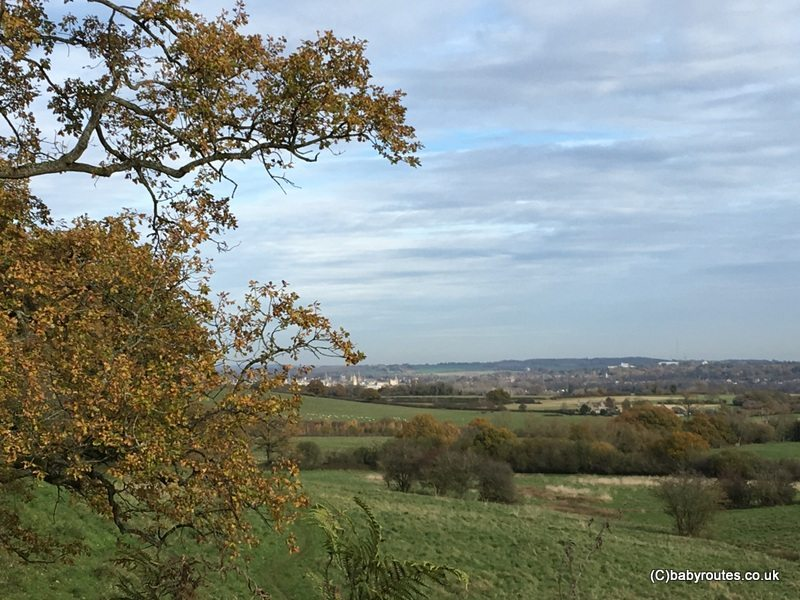 Oxford Spires View Walk at Boars Hill