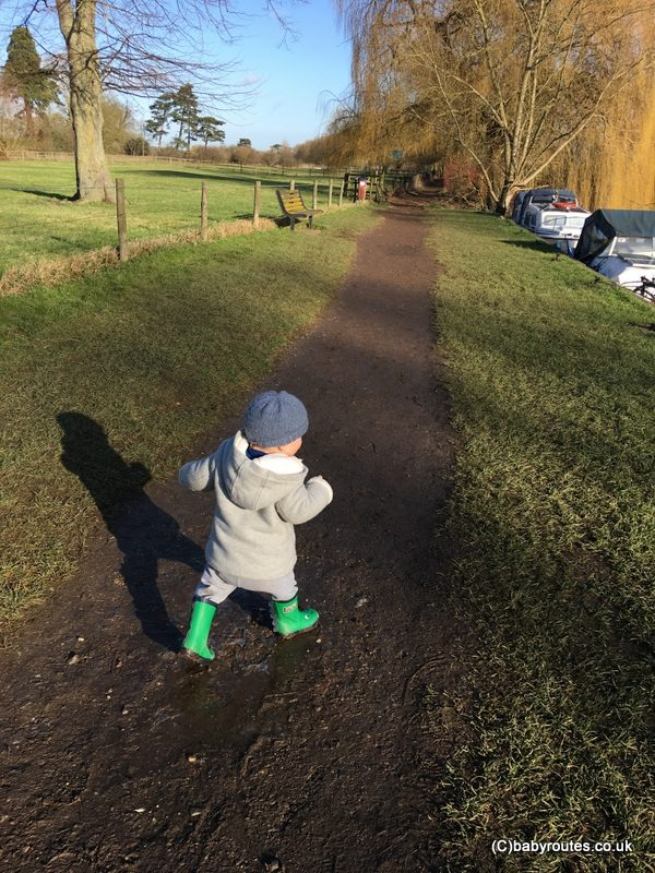 Wallingford Castle and River Walk, Baby Routes, Oxfordshire