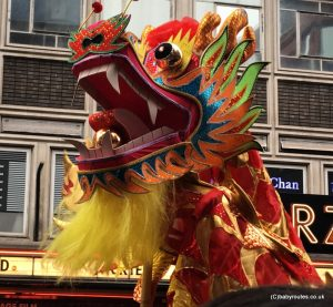 Chines New Year, London