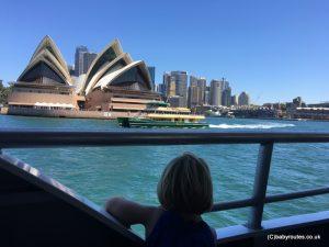 Sydney Opera House from the water, Sydney, Australia