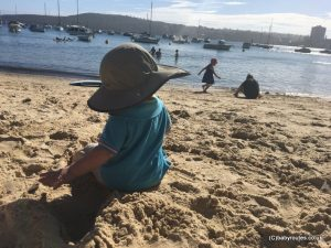 Manly harbour beach, Sydney, Australia