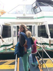Back on board the ferry to Topanga Zoo, Sydney, Australia