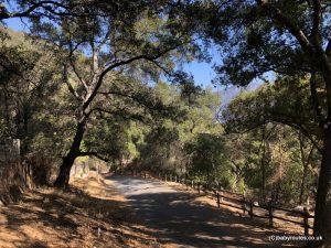 Chantry Flat Helipad Hike, Los Angeles, California, USA