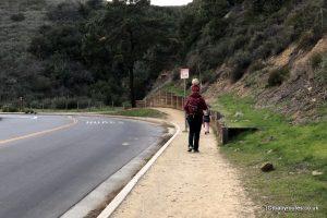 Hollywood Sign, Hollywood Lake & Sign Loop Hike, Los Angeles, California