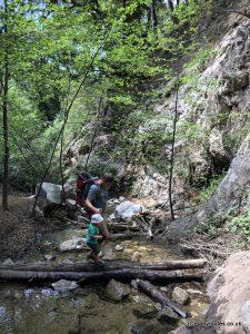 Millard Falls Hike, Altadena, Los Angeles. USA